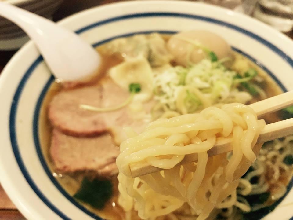[館山]波音食堂の生姜醤油ラーメンなるものを食べてみた。